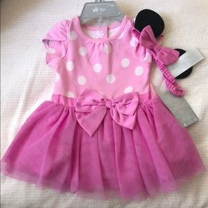 Disney Minnie Mouse Dress. Not worn. With tags